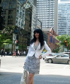 #fashion #style  #cute #ootd                    Light color outfit on a sunny day - Jennifer Kaya www.jenniferkaya.com