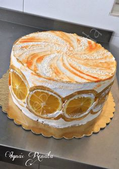 Citrus Cake, Cakes And More, Amazing Cakes, Tea Party, Cake Recipes, Good Food, Cooking Recipes, Pudding, Cupcakes