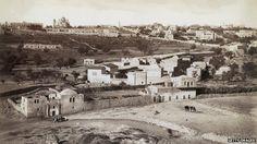 Jerusalem skyline in 1870