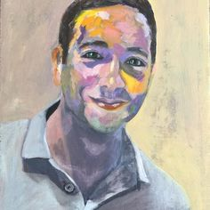 Love of my life, my son. Oil on board #portraite #portraitpainting #oiloncanvas #oilpainting#myson #mylove #loveofmylife #abstract #abstractart #photoodtheday#beautiful#love #picoftheday #instagram