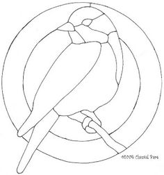 Free Mosaic Patterns For Stained Glass Tattoo … Más Free Mosaic Patterns, Stained Glass Patterns Free, Stained Glass Designs, Bird Patterns, Stained Glass Projects, Free Pattern, Stained Glass Tattoo, Stained Glass Quilt, Stained Glass Birds