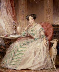 Christina Robertson: Portrait of Grand Duchess Maria Alexandrovna, later Empress of Russia