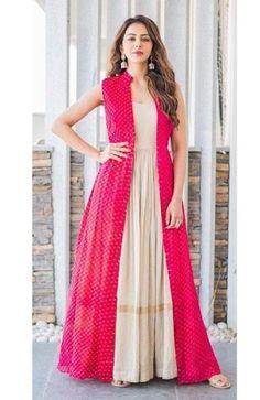 WhatsApp us at 9619997299 to order. Rakul preet indo Western jacket kurti WhatsApp us at 9619997299 to order. Rakul preet indo Western jacket kurti,Indian Fashion WhatsApp us at 9619997299 to order. Shrug For Dresses, Indian Gowns Dresses, Indian Fashion Dresses, Pakistani Dresses, Indian Outfits, Pakistani Lehenga, Indian Salwar Kameez, Indian Attire, Prom Dresses