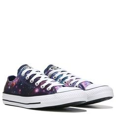 58aedc3aa674 Converse Chuck Taylor All Star Print Low Top Sneaker Midnight Lake   Pink