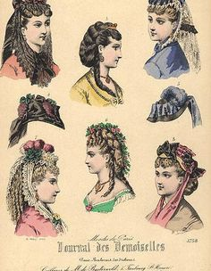 1898 HAIRSTYLES | lamodeillustree: late 19th century hair