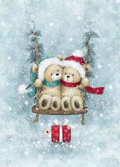 Christmas Scenes, Noel Christmas, Christmas Pictures, All Things Christmas, Vintage Christmas, Christmas Crafts, Christmas Decorations, Christmas Ornaments, Snowmen Pictures
