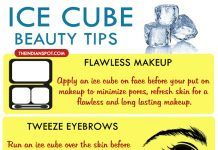 10 BEST BEAUTY TIPS USING ICE CUBES