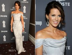 "Kate Beckinsale In Vivienne Westwood - 14th Annual Costume Designers Guild Awards (Vivienne Westwood defines sexy, ""It is about looking powerful and important,"" not easy or out of control.)"