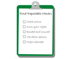 4 Tips on Hiring a Reputable Moving Company Moving And Storage, Online Checks, Lincoln, Bond, Tips
