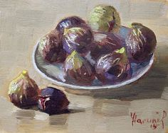 Painting - Black Figs by Ylli Haruni