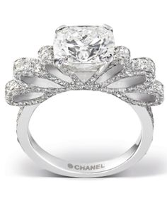 Chanel Engagement Ring. No further description necessary for such perfection.