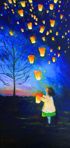 """""""Love calls everywhere and always. We're sky bound… Are you coming?"""" —Rumi (Art Titled: """"When the Spirits Dance Free"""" by Karrie Evenson) ..*"""
