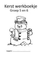 Kerstwerkboekje groep 5/6
