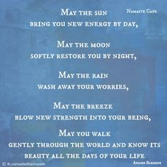 ~Apache Blessing