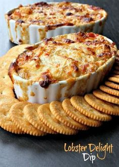 Delicious, impressive and won't break the bank - check out the secret ingredient in this Lobster Delight Dip!