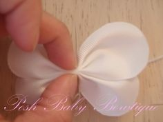 butterfly hairbow/hair clip instrctions