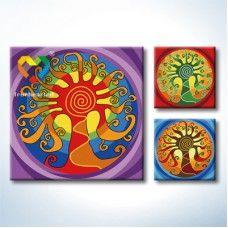 Mandala Oil Painting