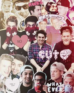 One of those cute tumblr collages of the Superfruit! It's so perfect and flawless just like Scott and Mitch! #scomiché