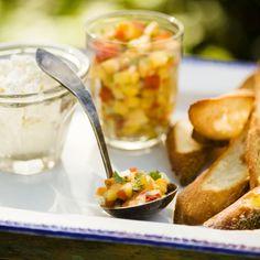 Peach Salsa - Sprouts Farmers Market - sprouts.com #GreatGrillin