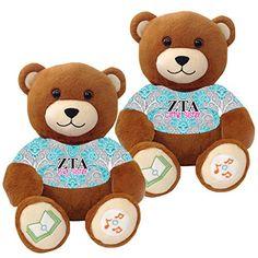 "Zeta Tau Alpha ""Big Sister"" and ""Little Sister"" Bluetooth music-playing teddy bear gift set of 2 VictoryTeddyBear http://www.amazon.com/dp/B00SA4GRSC/ref=cm_sw_r_pi_dp_BdY8vb1YM027M"