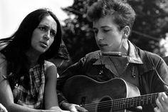 Joan Baez & Bob Dylan at Woodstock 1969