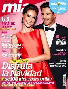Revista MÍA 1469, diciembre 2014. Disfruta de la #navidad. #Salud: 12 trucos antiatracones. Menú de Nochebuena.
