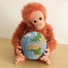 punchneedle globe - tutorial