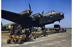 The imposing profile of the massive Short Stirling bomber