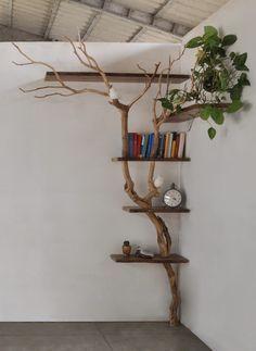Diy Crafts For Home Decor, Handmade Home Decor, Tiny Living Rooms, Living Room Decor, Home Decor Furniture, Furniture Design, Tree Furniture, Home Room Design, House Design