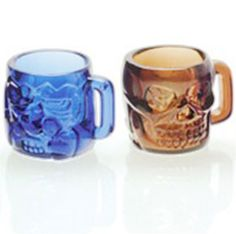 Awesome Mini Skull Mugs Shot Glasses #shotglasses #shots