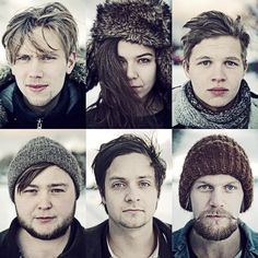 Of Monsters and Men - a great indie folk rock band from Iceland! Kinds Of Music, Music Love, Music Is Life, New Music, Good Music, Music Music, Dance Music, Indie Pop, Folk Pop
