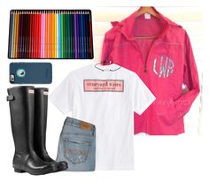 """""""3 hr car ride tmr!!"""" by lydia-hh ❤ liked on Polyvore featuring Vineyard Vines, Abercrombie & Fitch and Hunter"""