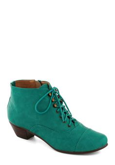 Plethora of Personality Bootie, #ModCloth