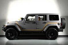 Custom 2013 Jeep Wrangler Unlimited Kevlar Coated Exterior $53,888