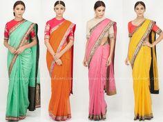Sabyasachi Band Baaja Bride Collections, Sabyasachi Sarees for Band Baaja Bride Collections, Sabyasachi Bridal Sarees