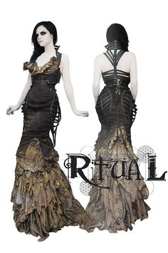 ritualfashion:    Ritual Wear  Music Inspired fashion by Cassidy Haley and Jillian Ann  http://www.RitualWear.com