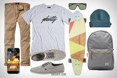 GARB : Geometric Skater via uncrate.com