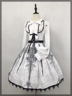 ★龙吟曲★ 刺绣中华风lolita两件套的图片  中华风 lolita洋装  dresses lolita