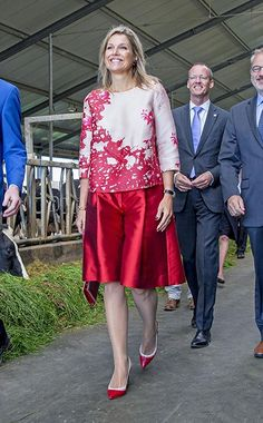 Queen Maxima, Princess Mary, the Queen, Princess Charlene: a gallery of the week's best royal style - Foto 4