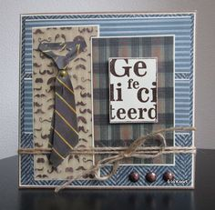 à la Kaart Blog Marianne Design, Masculine Cards, Stampin Up Cards, Different Colors, Cardmaking, Paper Crafts, Blog, How To Make, Decorated Notebooks