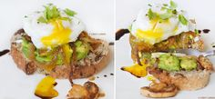 Poached Eggs; Clean eating; body building recipes