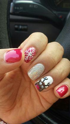 Uñas navidad/ Chrismas nails
