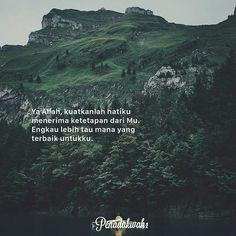 Segala sesuatu yang terjadi pada seorang muslim dan hal tersebut tidak sesuai dari apa yang diharapkannya adalah salah satu bentuk kasih sayang-Nya.  Ujian itu hadir dengan tujuan menuntut mereka menuju kesempurnaan diri dan kesempurnaan kenikmatan-Nya. Jangan buru-buru mencela musibah yang Allah berikan yakinlah ketetapan Allah adalah yang terbaik.  @penadakwah1 http://ift.tt/2f12zSN