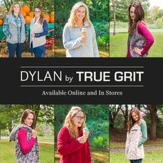Since 1991, dylan and True Grit have made casual luxury clothing with a certain California sophistication. Mast Store is now carrying several pieces from the dylan women's line, including the women's cut of the popular Frosty-Tipped Fleece. Ladies, you've been asking for them and now you have them…pockets!  Also in the collection are vests of faux leather and silky fur to add your own flair to any outfit.  Orders totaling $99 or more ship FREE or choose the ship-to-store option for free…
