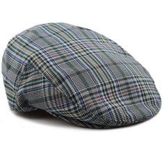 581142e9182 The Hat Depot Unisex All Season Cotton Ivy Newsboy Flat Cap-1833 Flat Cap