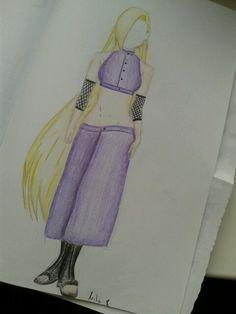 Ino drawing :-) Arte Pop, Drawing Practice, Anime Manga, My Drawings, Two Piece Skirt Set, Fashion, Manga Drawing, Drawings, Moda