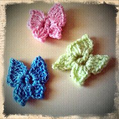 Get your #crochet butterfly pattern here http://sarahsweethearts.blogspot.com/2011/08/flutterby.html
