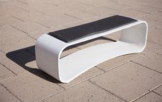 kurve bench | barkman site furnishings | Planters, benches, and other landscape accessories