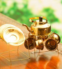 Utensils Miniature Tea Set: Relish In Style