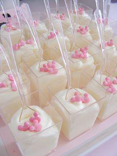 Dessert Cups from a Minnie Mouse Birthday Party via Kara's Party Ideas | KarasPartyIdeas.com (8)